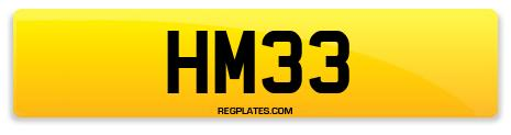 Registration HM33