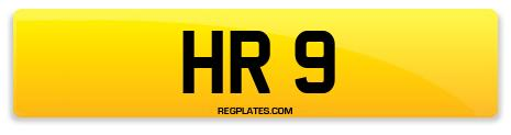 Registration HR 9