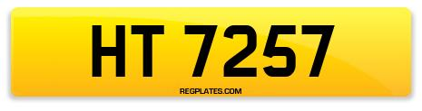 Registration HT 7257