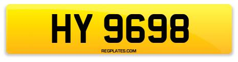 Registration HY 9698