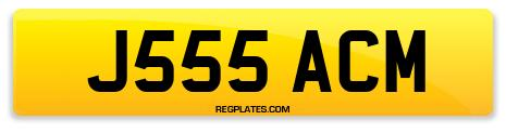 Registration J555 ACM