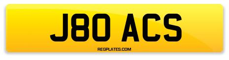 Registration J80 ACS