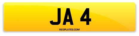 Registration JA 4