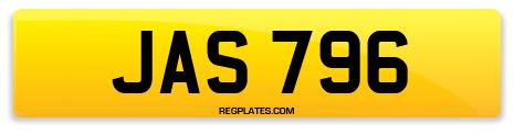 Registration JAS 796