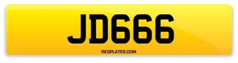 Registration JD666