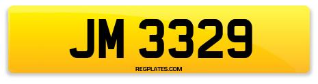 Registration JM 3329
