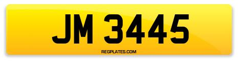 Registration JM 3445