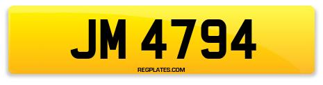 Registration JM 4794