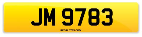 Registration JM 9783