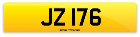 Registration JZ 176