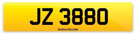 Registration JZ 3880
