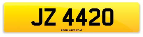 Registration JZ 4420