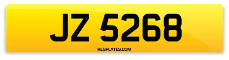 Registration JZ 5268