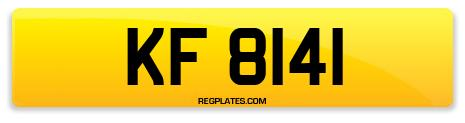 Registration KF 8141