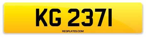 Registration KG 2371