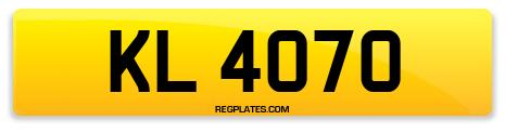 Registration KL 4070