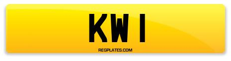 Registration KW 1