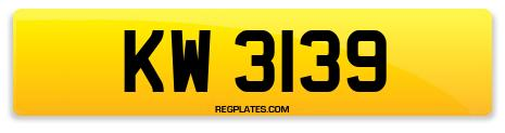 Registration KW 3139