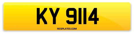 Registration KY 9114