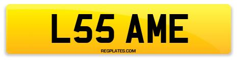 Registration L55 AME