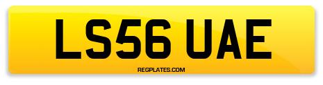 Registration LS56 UAE