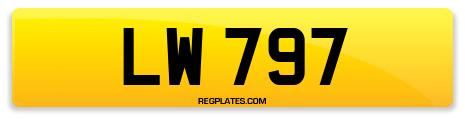 Registration LW 797