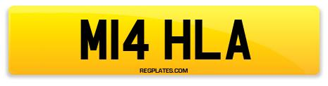 Registration M14 HLA