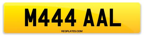 Registration M444 AAL
