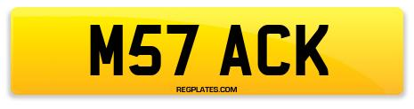 Registration M57 ACK