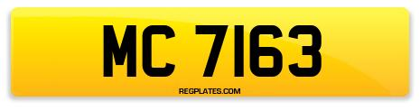 Registration MC 7163