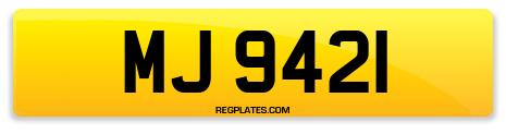 Registration MJ 9421