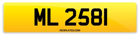 Registration ML 2581
