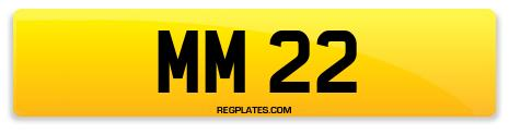 Registration MM 22
