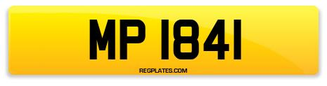 Registration MP 1841