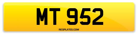 Registration MT 952