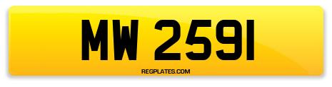 Registration MW 2591