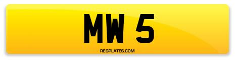Registration MW 5