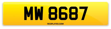 Registration MW 8687