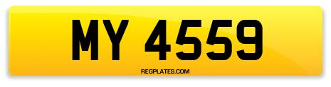 Registration MY 4559