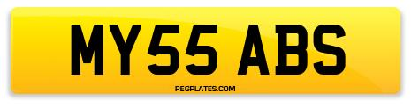 Registration MY55 ABS