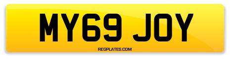 Registration MY69 JOY