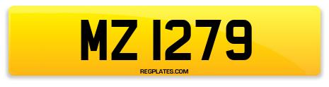 Registration MZ 1279