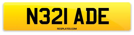 Registration N321 ADE