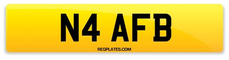 Registration N4 AFB