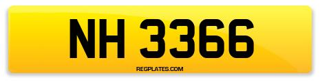 Registration NH 3366