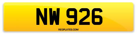 Registration NW 926