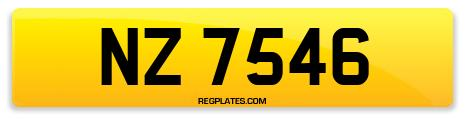 Registration NZ 7546