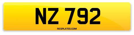 Registration NZ 792