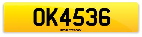 Registration OK4536