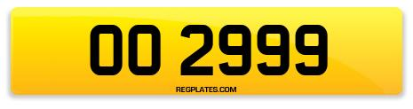 Registration OO 2999